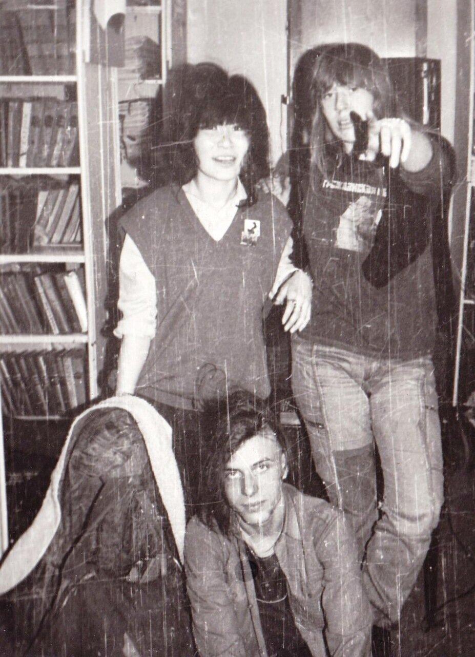 1989. Концерт Янки в Ангарске