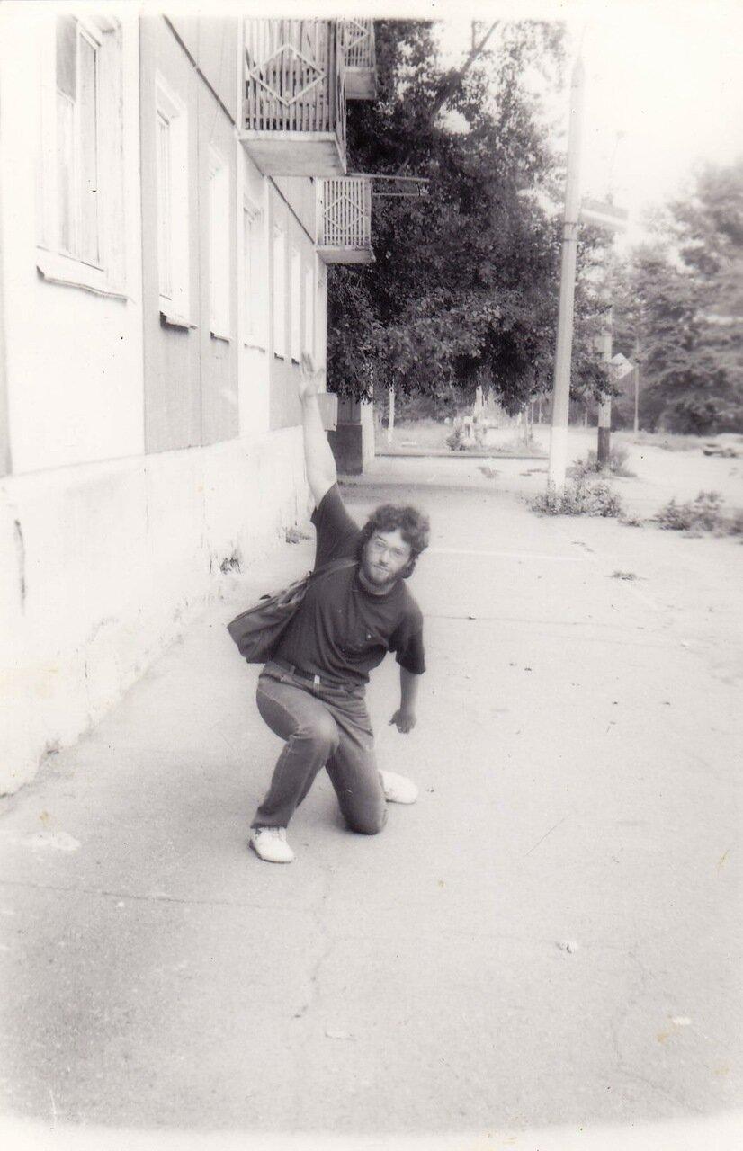 1992. В Усолье с группой «Флирт»
