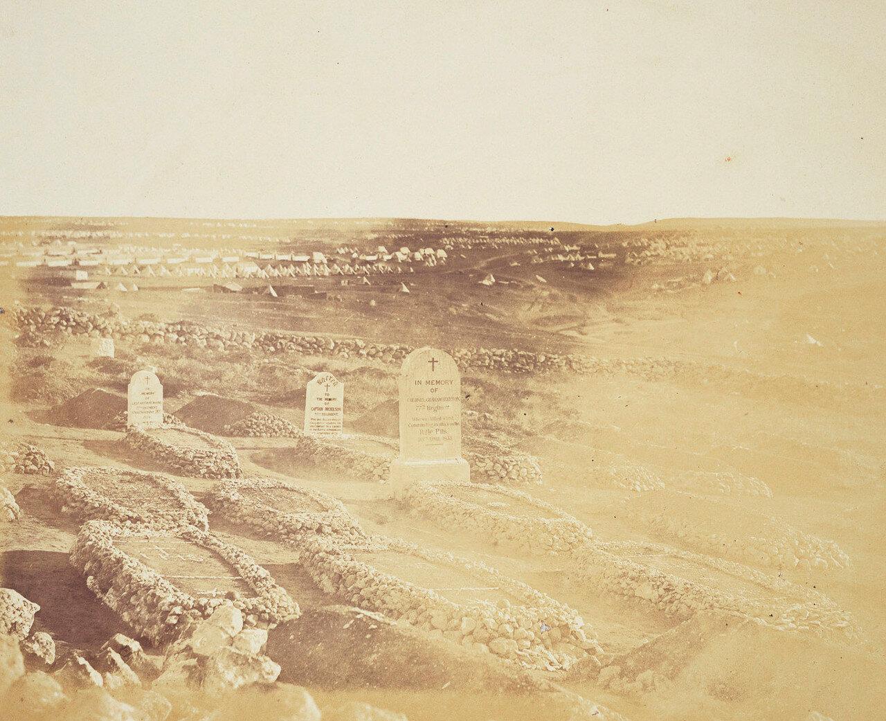 Могилы 77-го полка на британском кладбище возле Севастополя