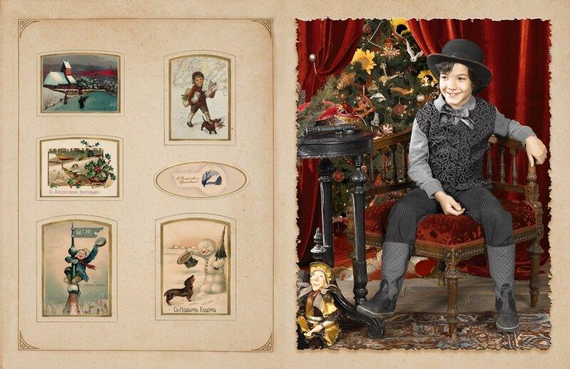 Проект екатерины рождественской рождественские открытки, деду победой