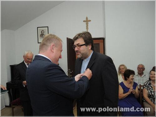 Stowarzyszenie Dom Polski w Bielcach - Wręczono Medale Pro Memoria i Pro Patria