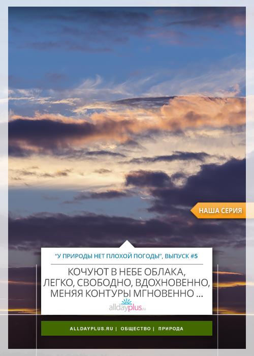 У природы нет плохой погоды, выпуск #05 | Кочуют в небе облака... Небесатые фото by © Nexus. 65 Свеже-небесных кадров.