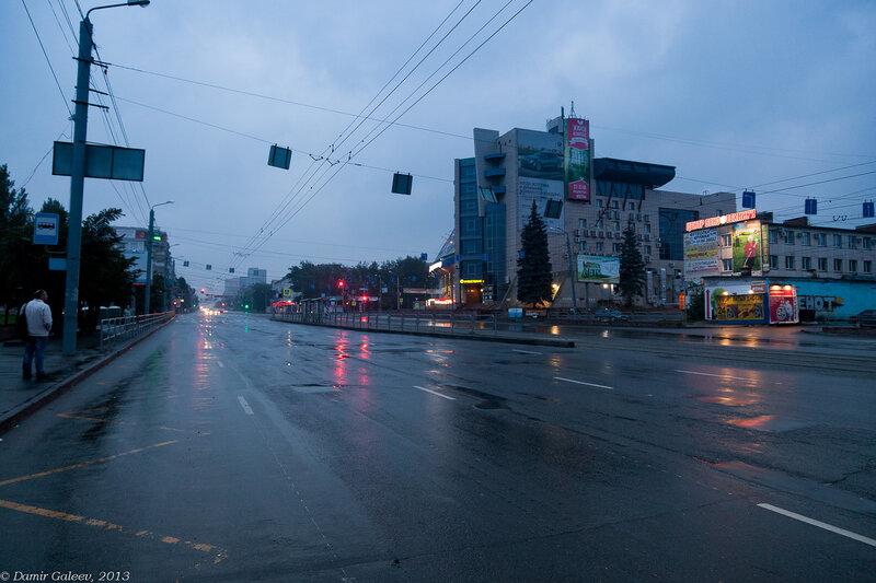 Дождливо