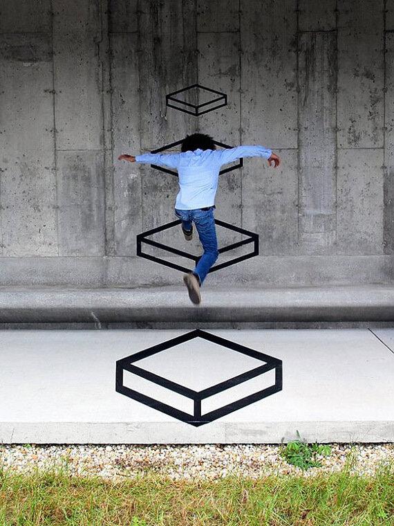Трехмерный стрит-арт (11 фото)