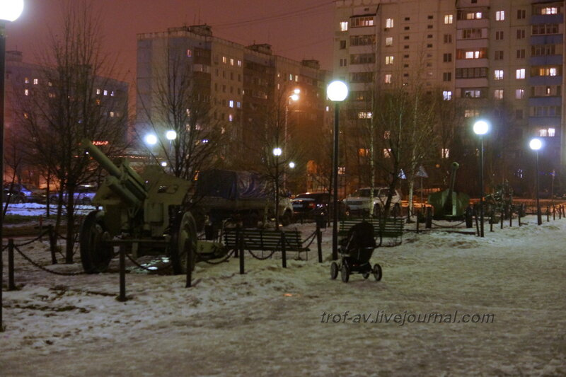 Мемориал Парк Победы, Краснознаменск