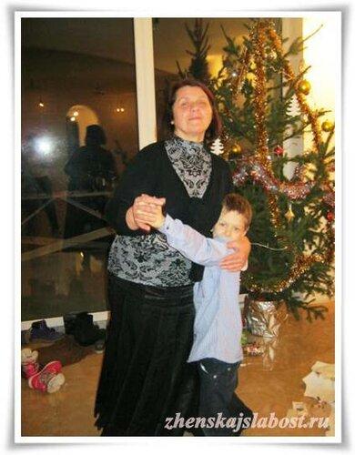 Ирина с внуком