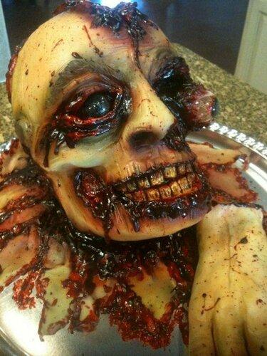Торты на Хэллоуин