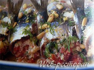 Блюда из рыбы рецепты сардин