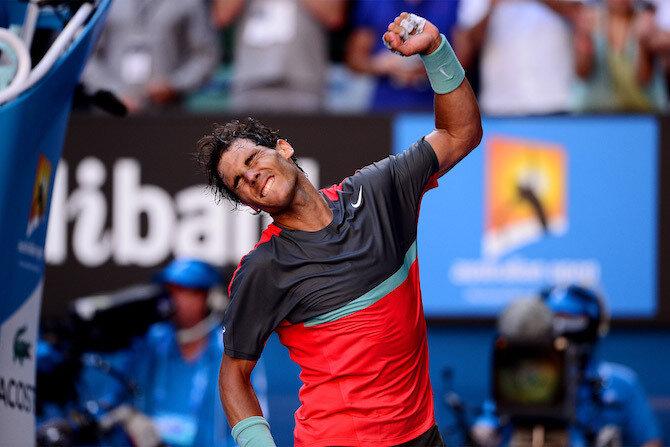Рафаэль Надаль, Australian Open, Григор Димитров