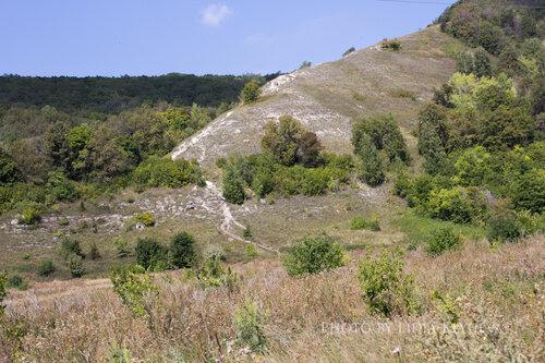 Лысый склон горы