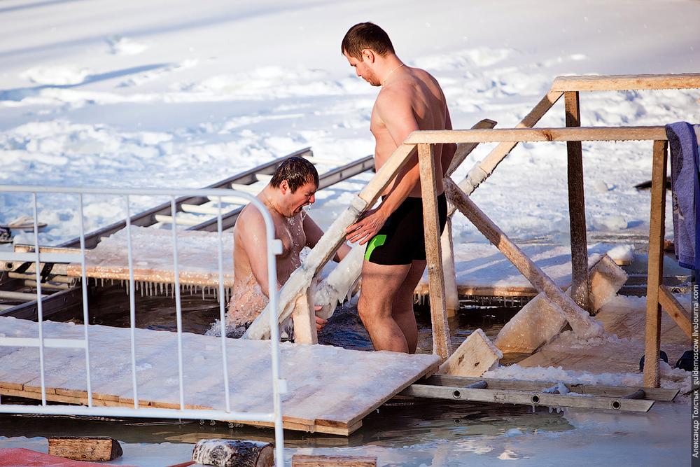 Крещение 2014 в Москве