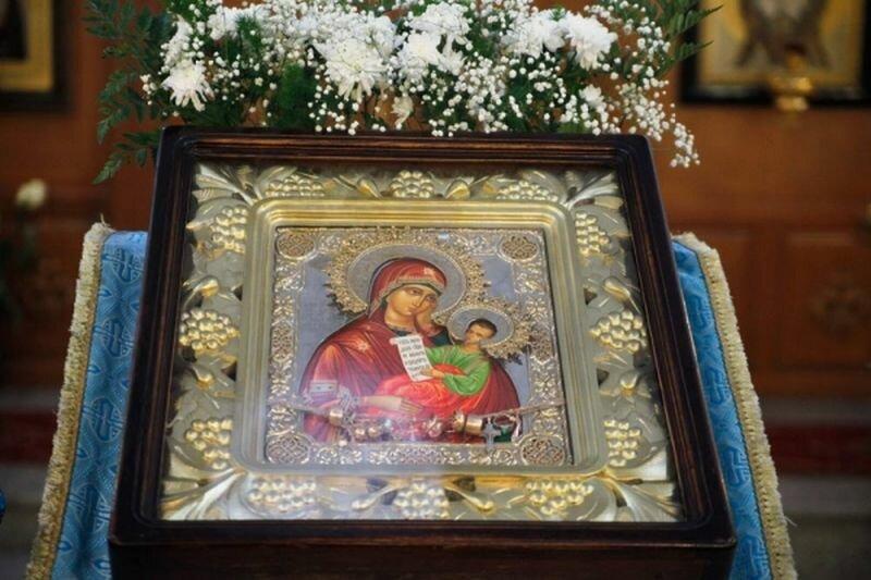 Икона Божьей Матери (17.07.2013)