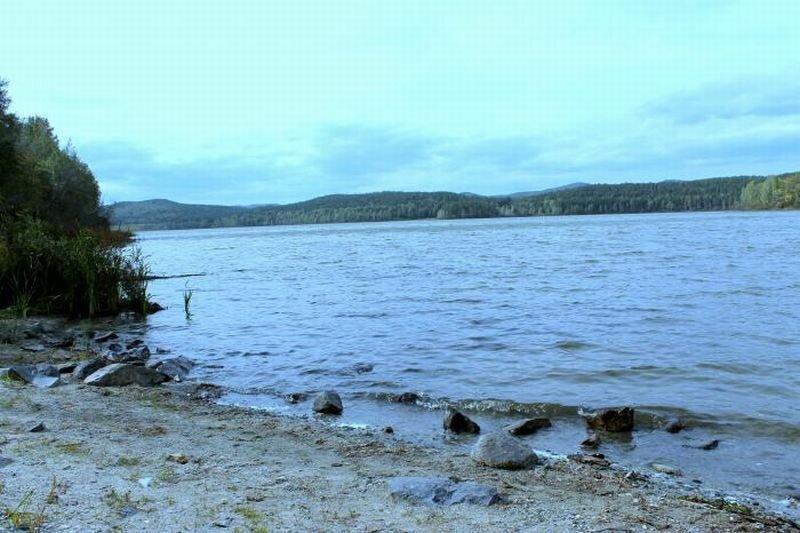 Пляж на озере (22.07.2013)