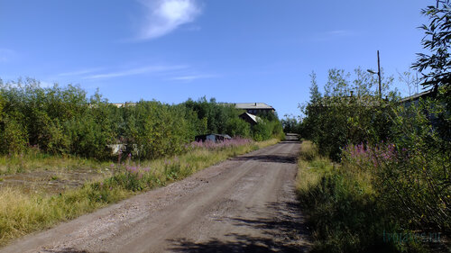 Фото города Инта №5544  Улица Спортивная в сторону Восточной в районе Спортивной 110 06.08.2013_13:42
