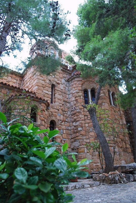 Монастырь Благовещени деревни Неа Макри