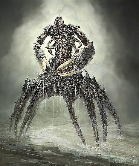 12 знаков Зодиака в образах чудовищных монстров (фото 4)