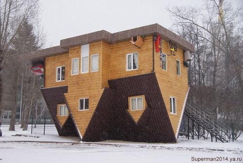 Дом-перевёртыш нв ВВЦ