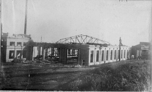 Разрушенная во время Великой Отечественной войны Попасная