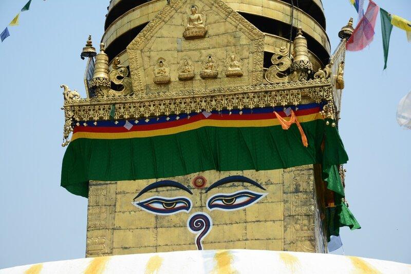 Ступа Сваямбунатх (Swayambhunath).