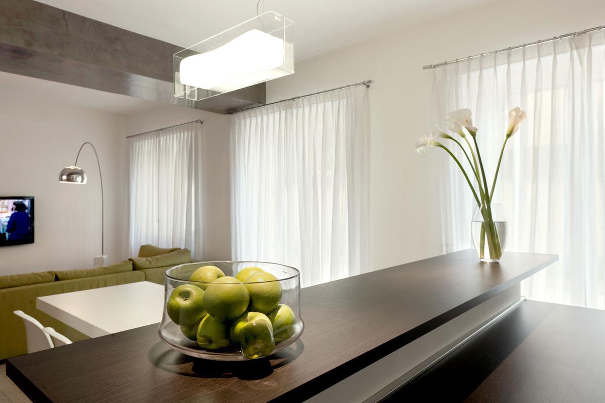 Pan Apartment, Carola Vannini Architecture, интерьер в стиле минимализма, педантичный интерьер, кремовый интерьер, квартира педанта, квартира в Риме