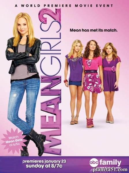 Дрянные девчонки2 / Mean Girls2 (2011/WEB-DLRip)