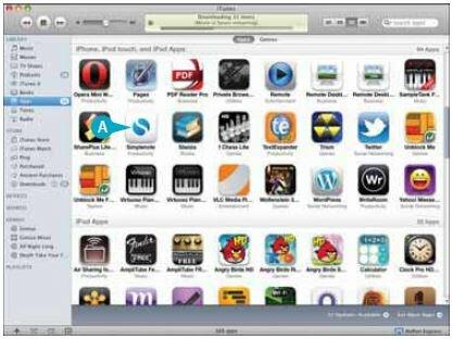 iTunes добавит приложение к списку уже имеющихся