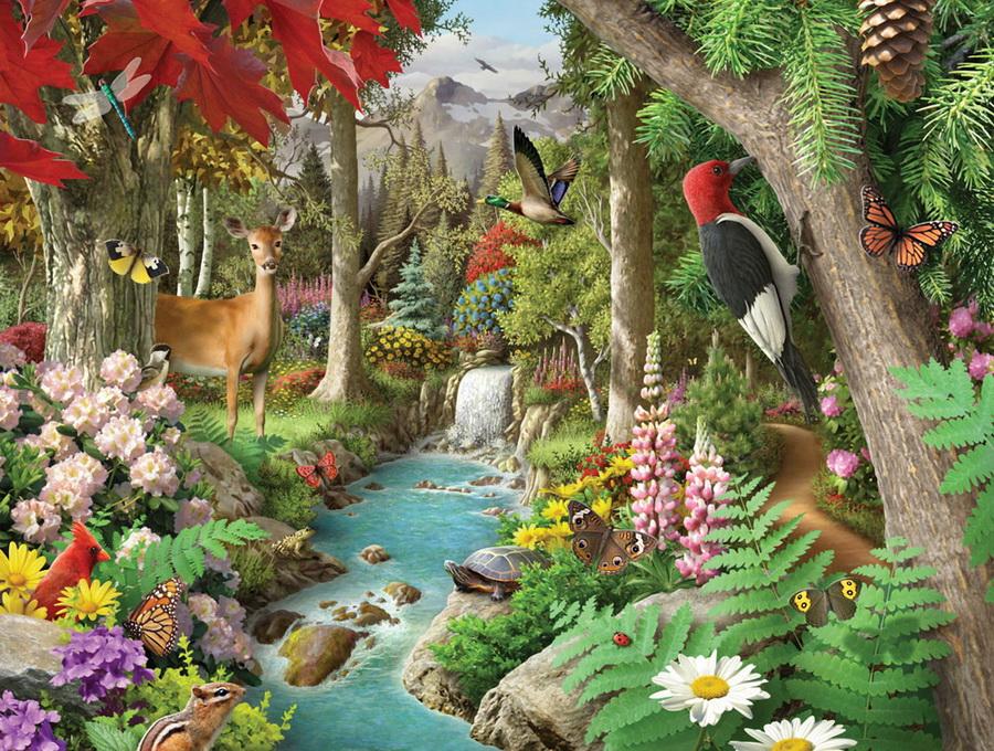 Невероятно красочный мир  художника-иллюстратора Алана Гиана (Alanа Giana)