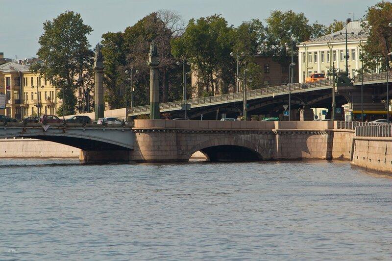 Ушаковские мост и наб.