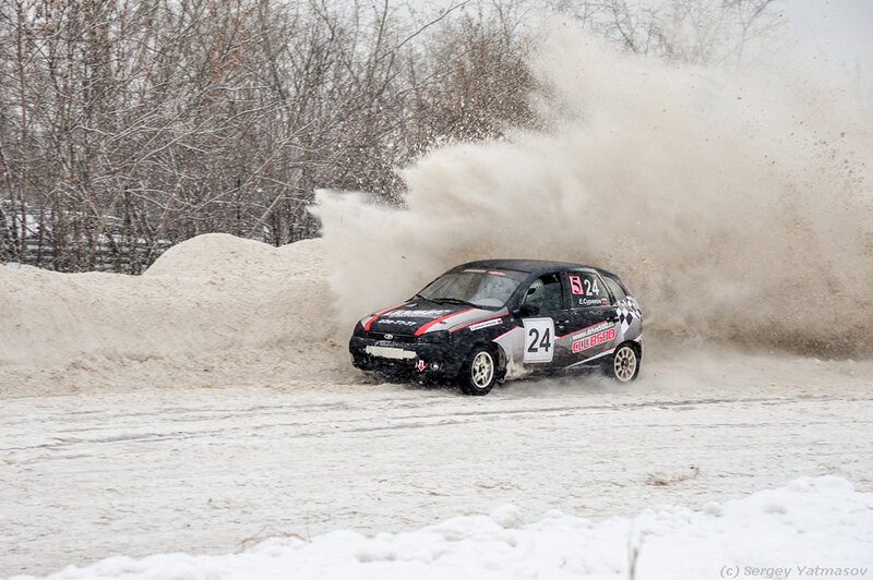 Трековые гонки Красноярск 4 января 2014