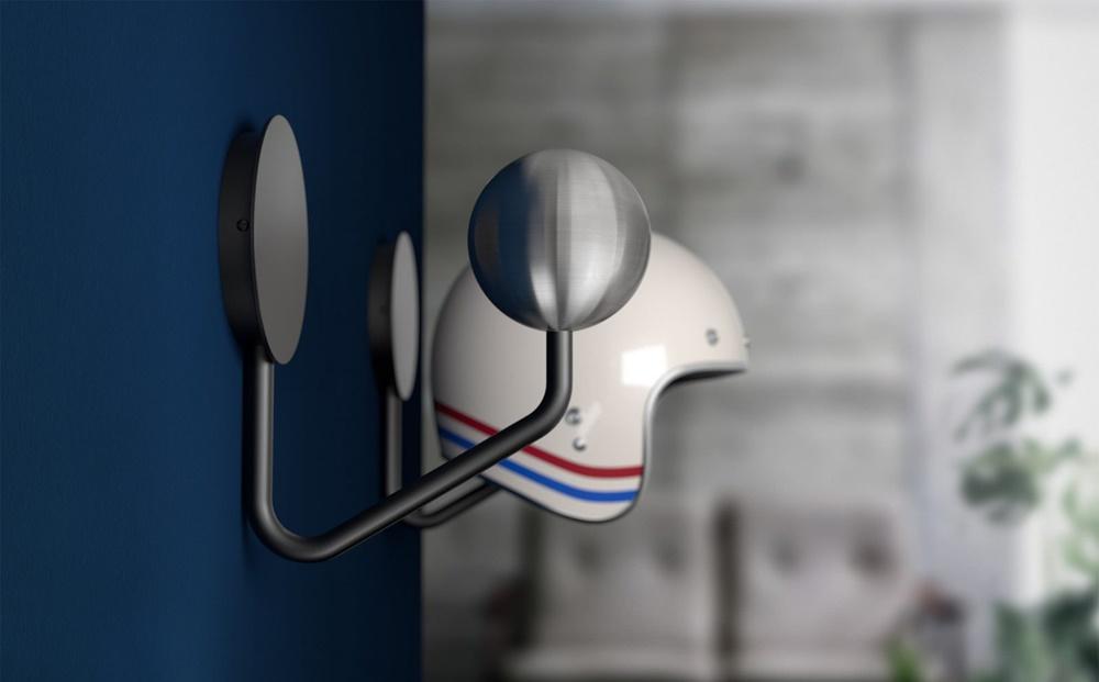 «Halley Helmet Rack» - вешалка для шлема