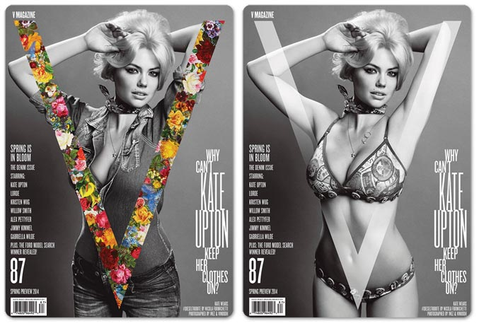 Кейт Аптон / Kate Upton by Inez & Vinoodh in V Magazine 87
