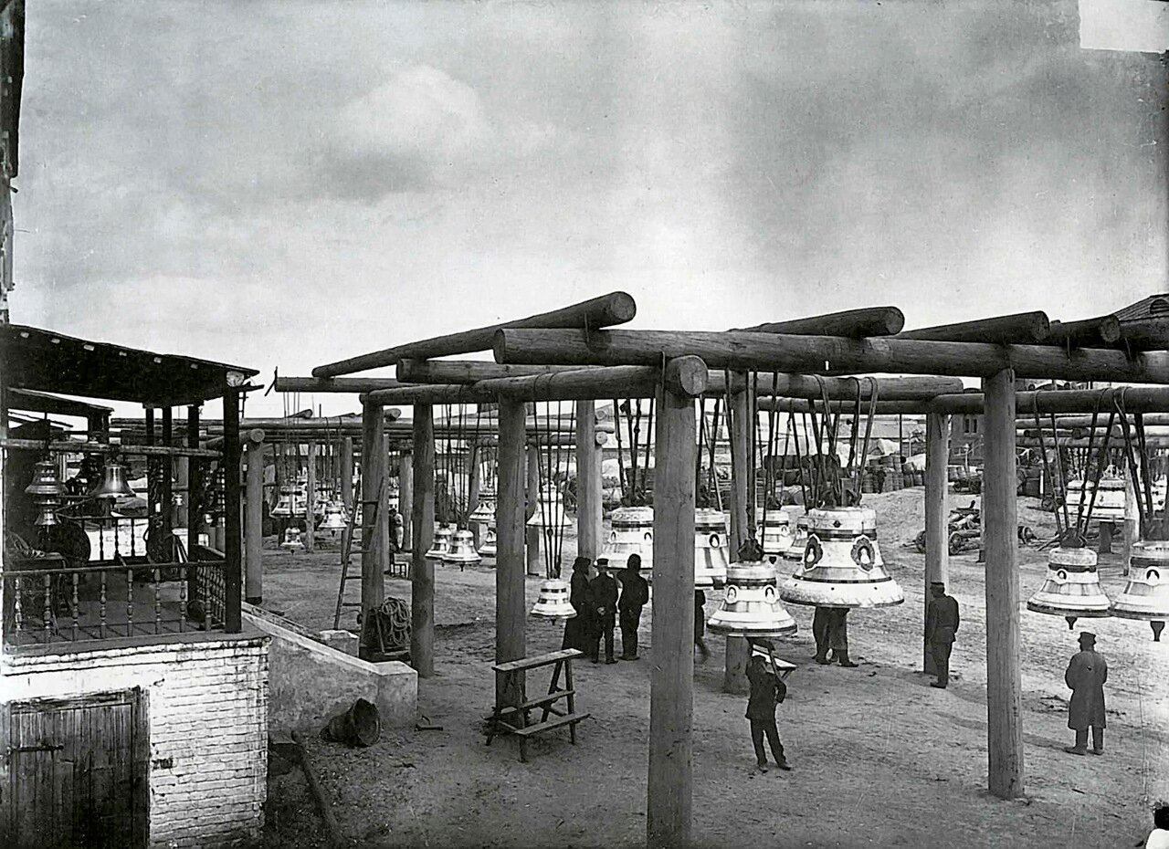 Колокольные ряды на ярмарке. 1896.