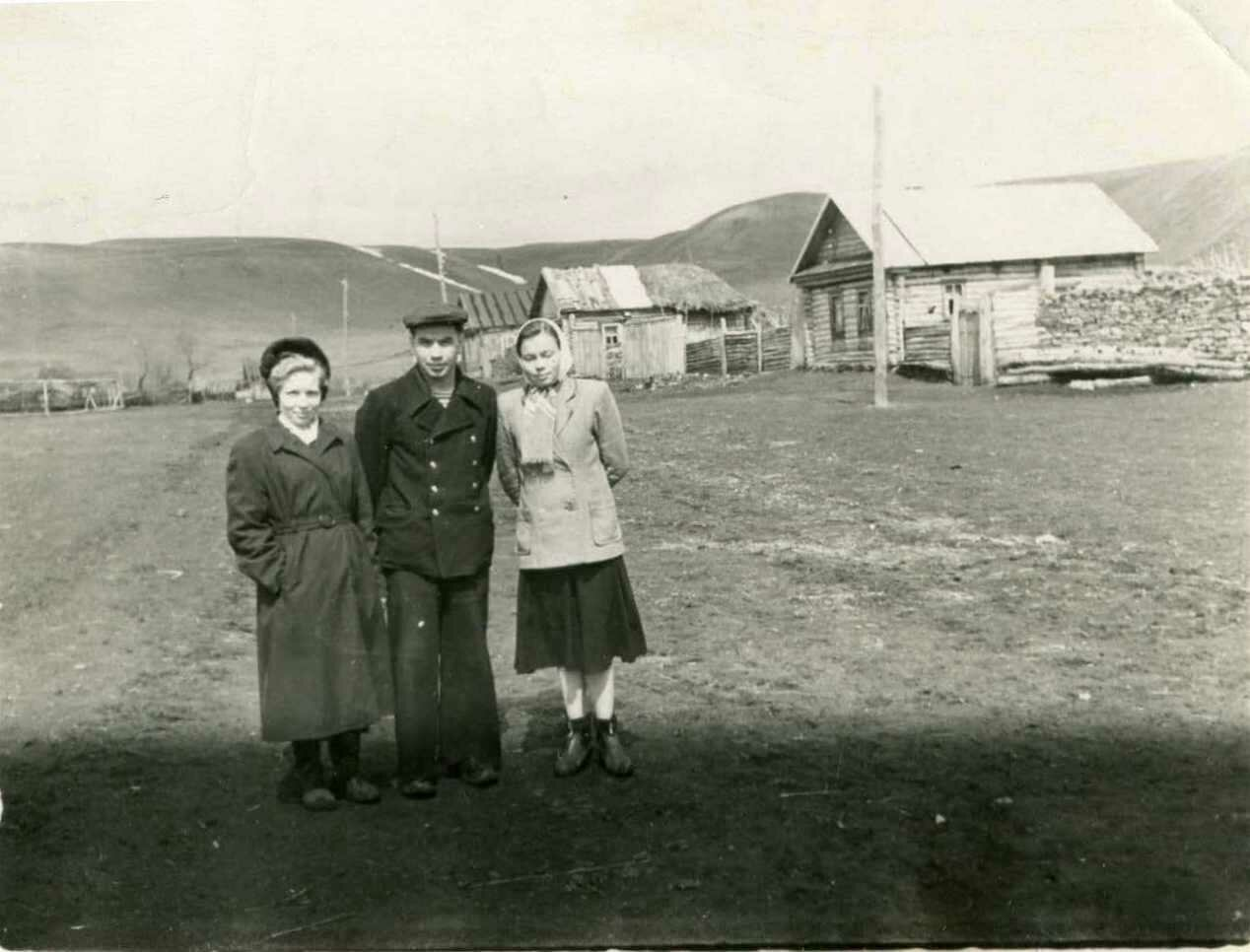1950-е. В деревне