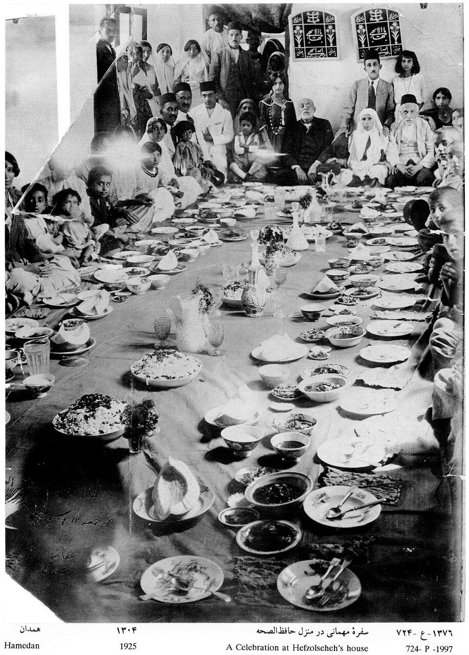 Участники торжества, 3 сентября 1925