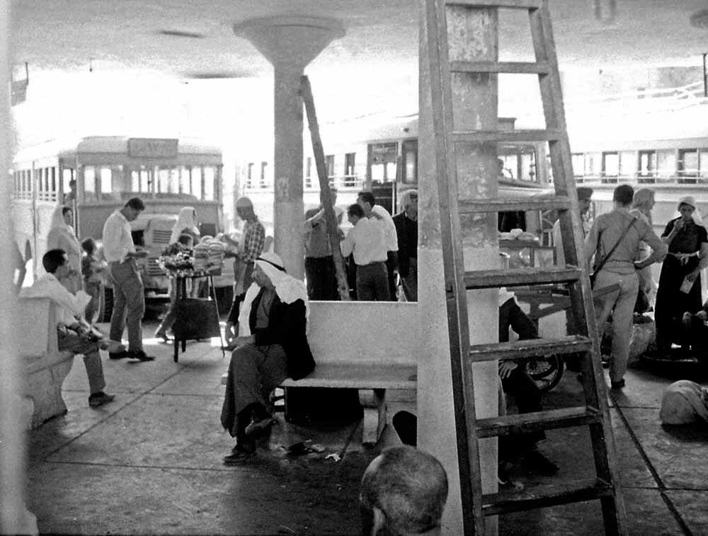 Израиль. Иерусалим. Автобусная станция