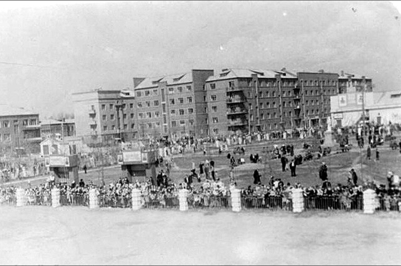 Улица Советская. 1948 год