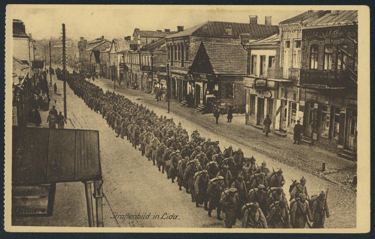 Уличная сцена в Лиде
