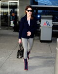 Celebrity Sightings In New York City - January 31, 2014