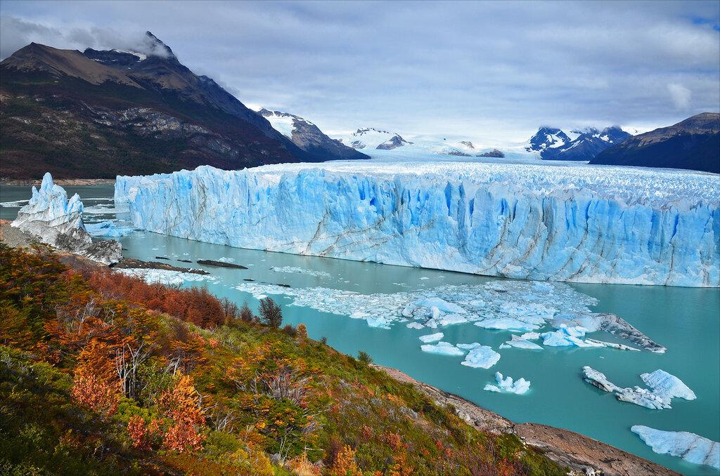 Голубые ледники  Перито-Морено