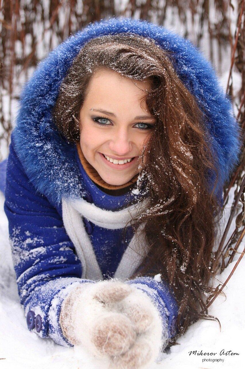 Снежная улыбка