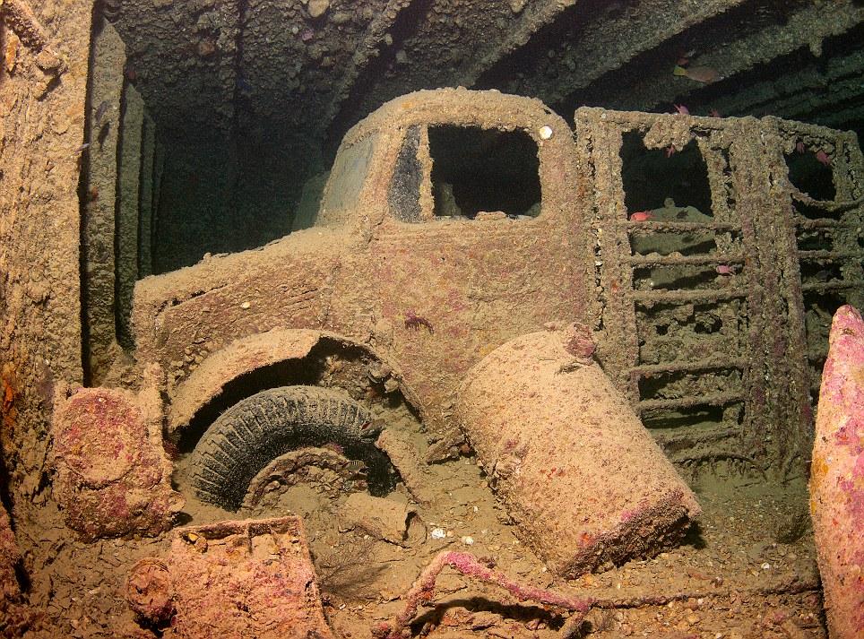 SS Thistlegorm Shipwreck Explored