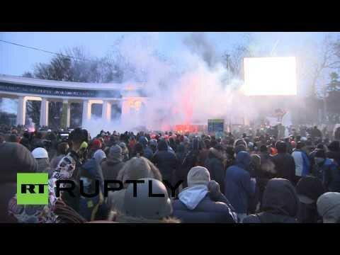 Украина штурмует верховную раду!