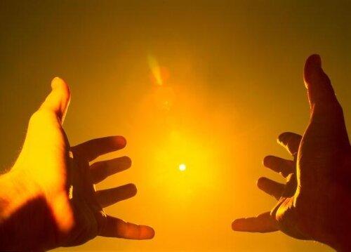 Солнечные лучи понижают давление