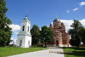 Спасо-Бородинский женский монастырь, Собор Владимирской иконы Божьей Матери и колокольня