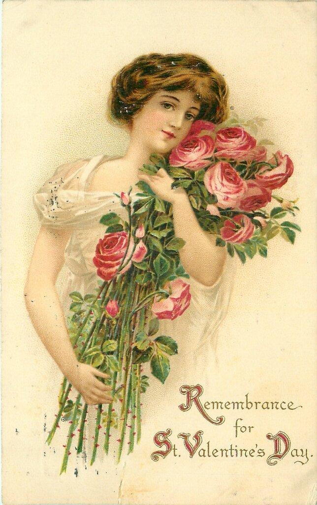 Смешные ромашки, открытки к валентина женщин