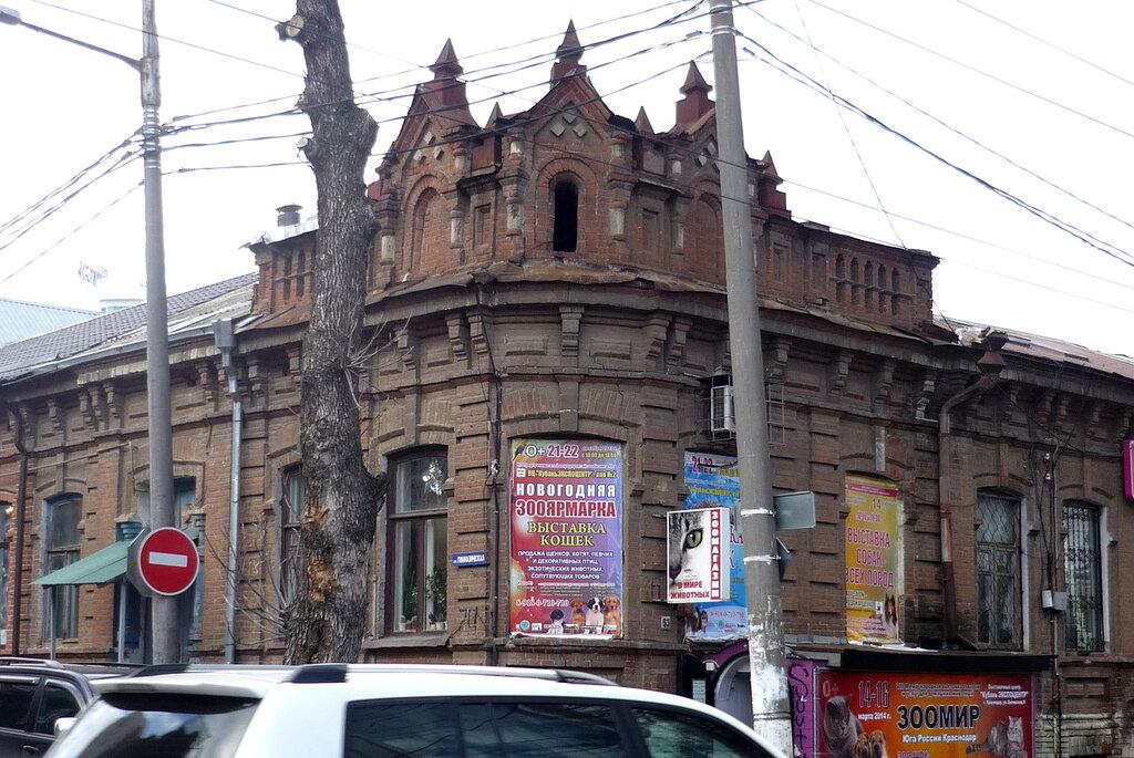 Дом жилой конец xix в угол ул