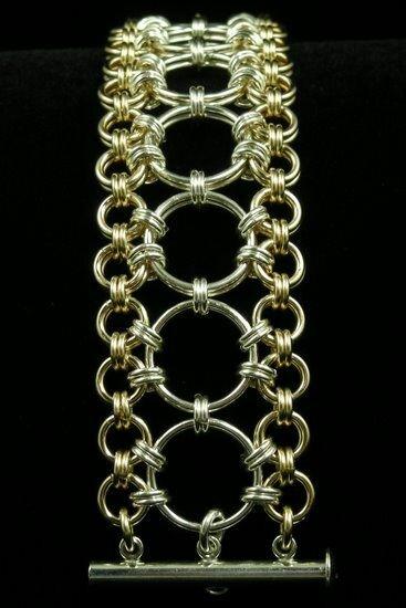 украшения кольчужное плетение