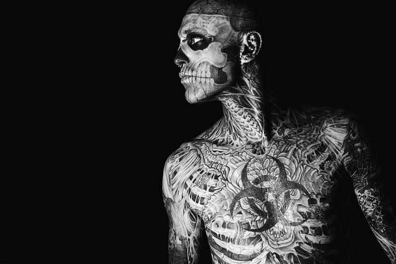 Zombie Boy (фото+видео)