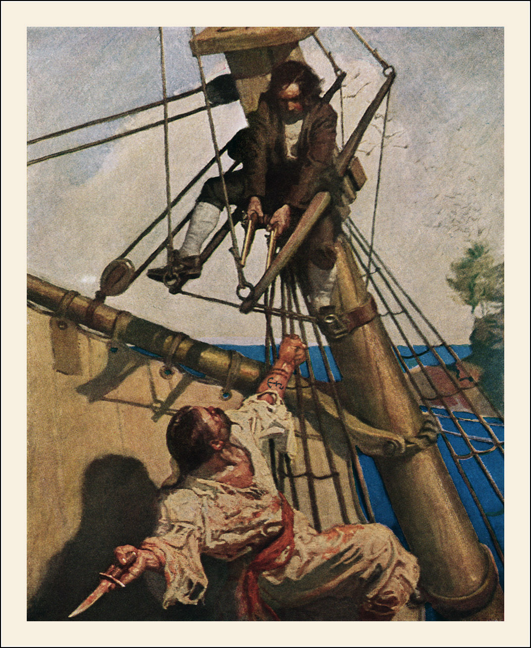 Wyeth Illustrations Treasure Island