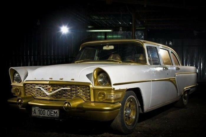 Легенды советского автопрома после восстановления